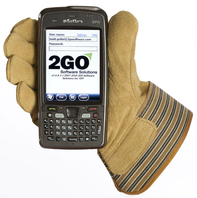 2Go Mobile Psion Handheld Device