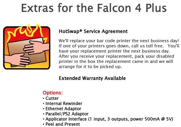 Extras for the Falcon 4 Plus
