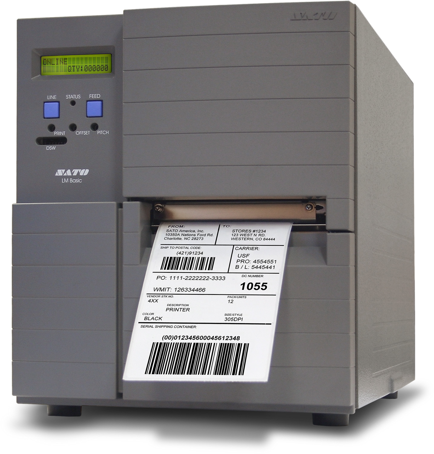 Sato LM4e Series Thermal Printer