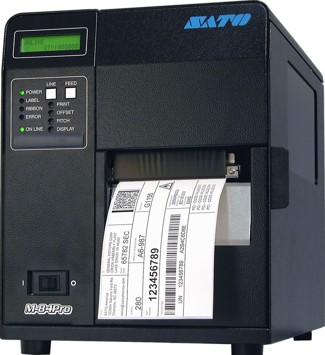 Sato M84Pro Thermal Printer